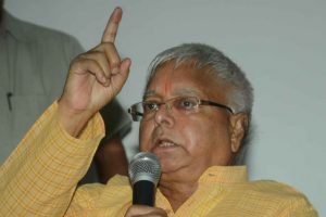 Lalu slams Modi on arrest of activists