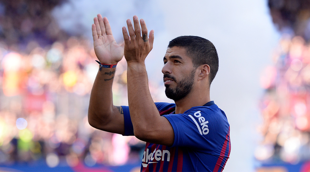 Luis Suárez named Player Of The Month for October