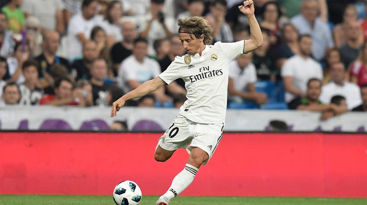 Luka Modric, Real Madrid C.F., La Liga, UEFA Champions League, Real Madrid Transfer News