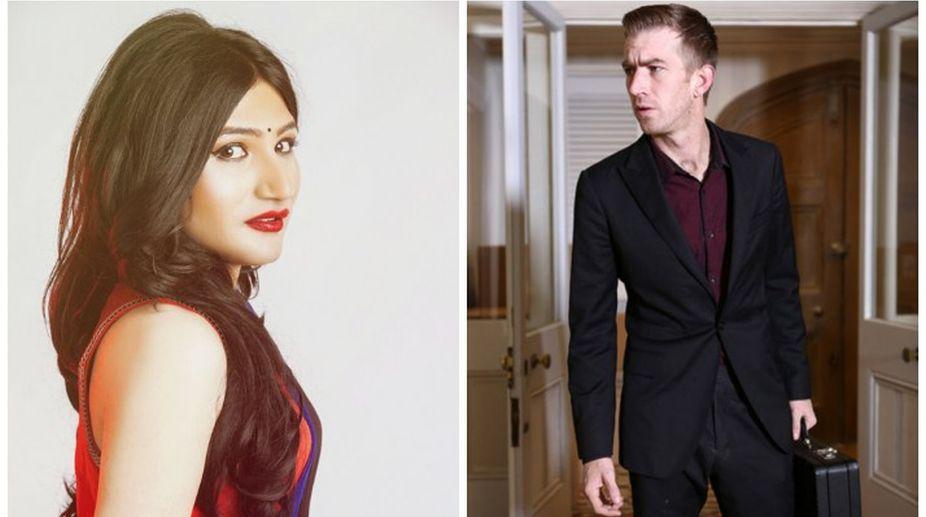Mahika Sharma and Danny D