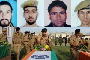 J-K | 4 policemen shot dead by terrorists in Shopian