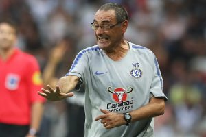 Chelsea coach Maurizio Sarri unfazed by Alvaro Morata's poor form, unimpressed by Willian's tardiness