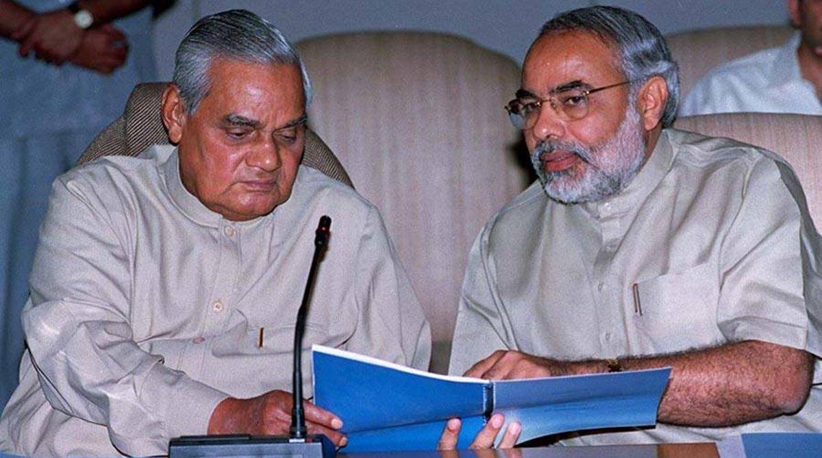 PM Modi writes on Atal Bihari Vajpayee