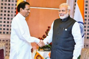 Modi meets Sri Lankan president in Nepal, discusses bilateral cooperation