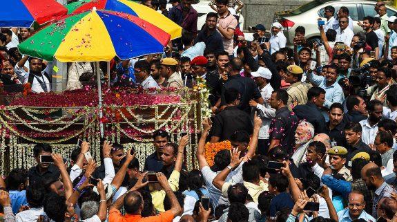 Former PM Atal Bihari Vajpayee cremated