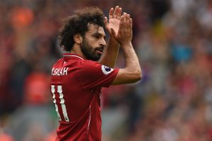 Liverpool news: Mohamed Salah and Co all smiles in training