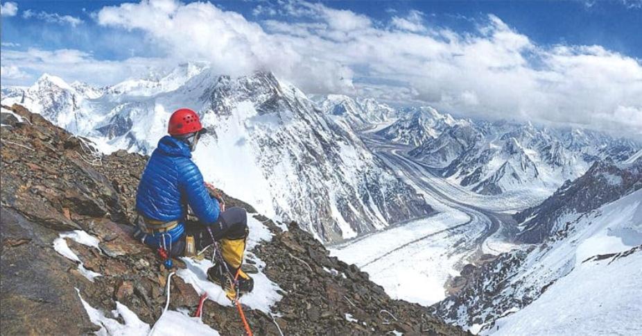 Mount K2 view