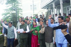 HP Assembly: Cong stages walkout on law and order situation