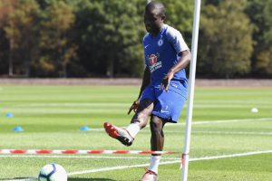 Chelsea handed major boost as Eden Hazard, N'Golo Kante train for 1st time since World Cup
