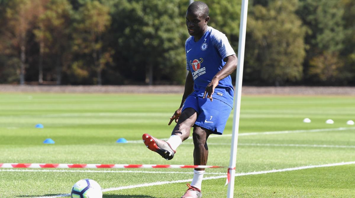 Eden Hazard, Chelsea F.C., Premier League, Chelsea Training, Twitter, N'Golo Kante, Olivier Giroud, Chelsea Transfer News
