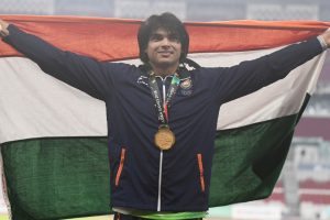 Asian Games: Neeraj Chopra hits gold with record-smashing javelin throw