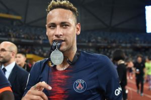 Neymar returns as PSG thrash Monaco in China