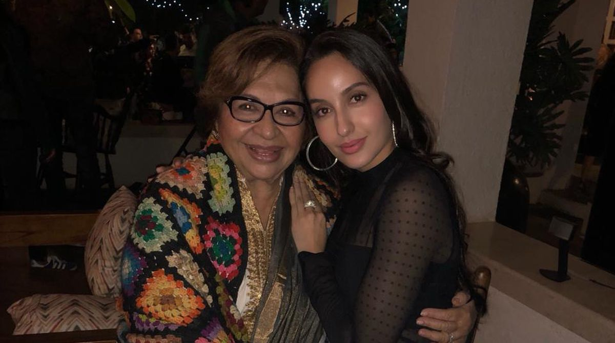 Helen gives her blessings to Nora Fatehi