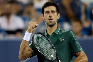 Djokovic wins men's tennis title in Cincinnati, defeats Federer