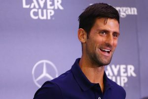 Novak Djokovic excited by prospect of Roger Federer doubles link