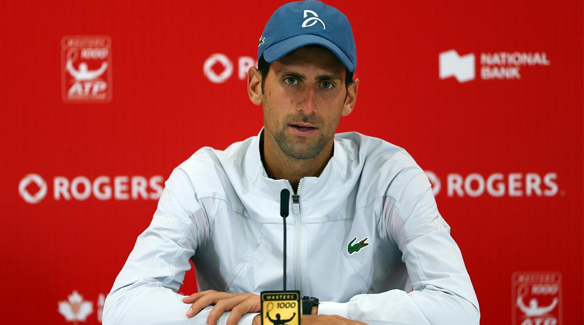 Novak Djokovic, Toronto Open, Rogers Cup, ATP Tour, Peter Polansky