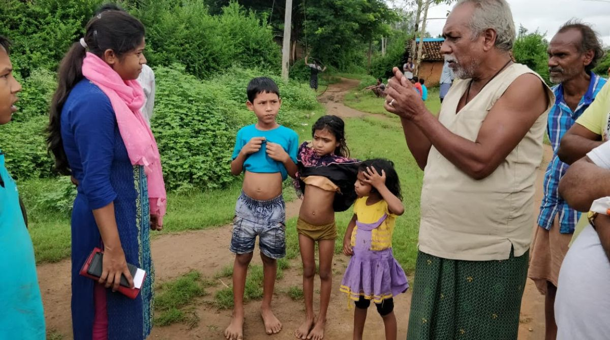 Kids, Hot sticks, Nabarangpur, Odisha