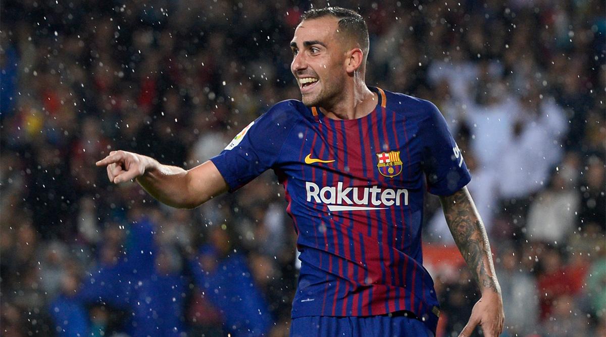 Paco Alcacer, F.C. Barcelona, La Liga, Barcelona Transfer News, Borussia Dortmund, Borussia Dortmund Transfer News, Paco Alcacer Transfer