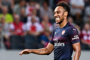 Watch: Misfiring Arsenal forward Pierre-Emerick Aubemayeng assigned new position?