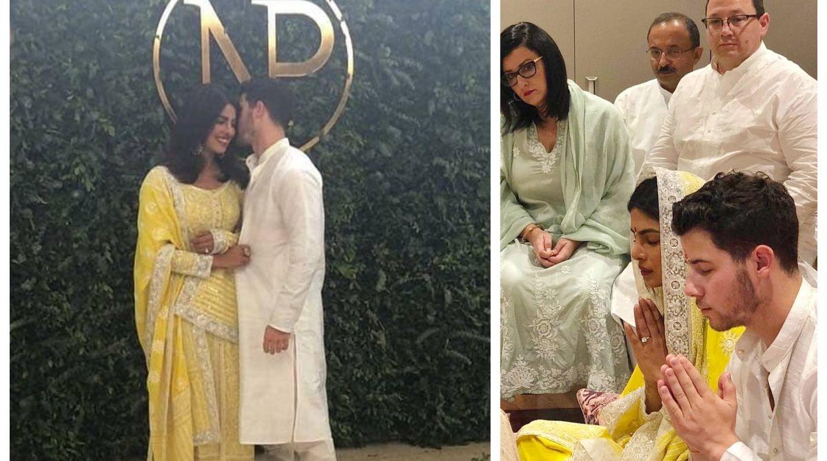 Priyanka Chopra Nick Jonas Are Officially Engaged See Photos