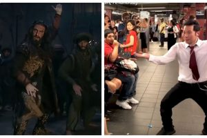 YouTuber Q Park shocks NYC with Ranveer Singh's Khalibali dance | See video
