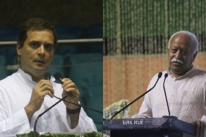 RSS may invite Rahul Gandhi to attend lecture series by Mohan Bhagwat