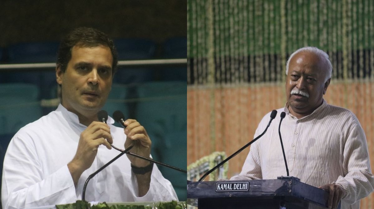 RSS may invite Rahul Gandhi for lecture series by Mohan Bhagwat