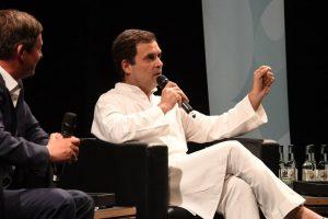 Indian men should change their outlook towards women: Rahul Gandhi