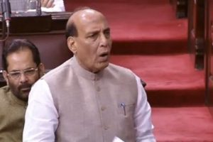 No curb on people's democratic rights: Home Minister Rajnath Singh