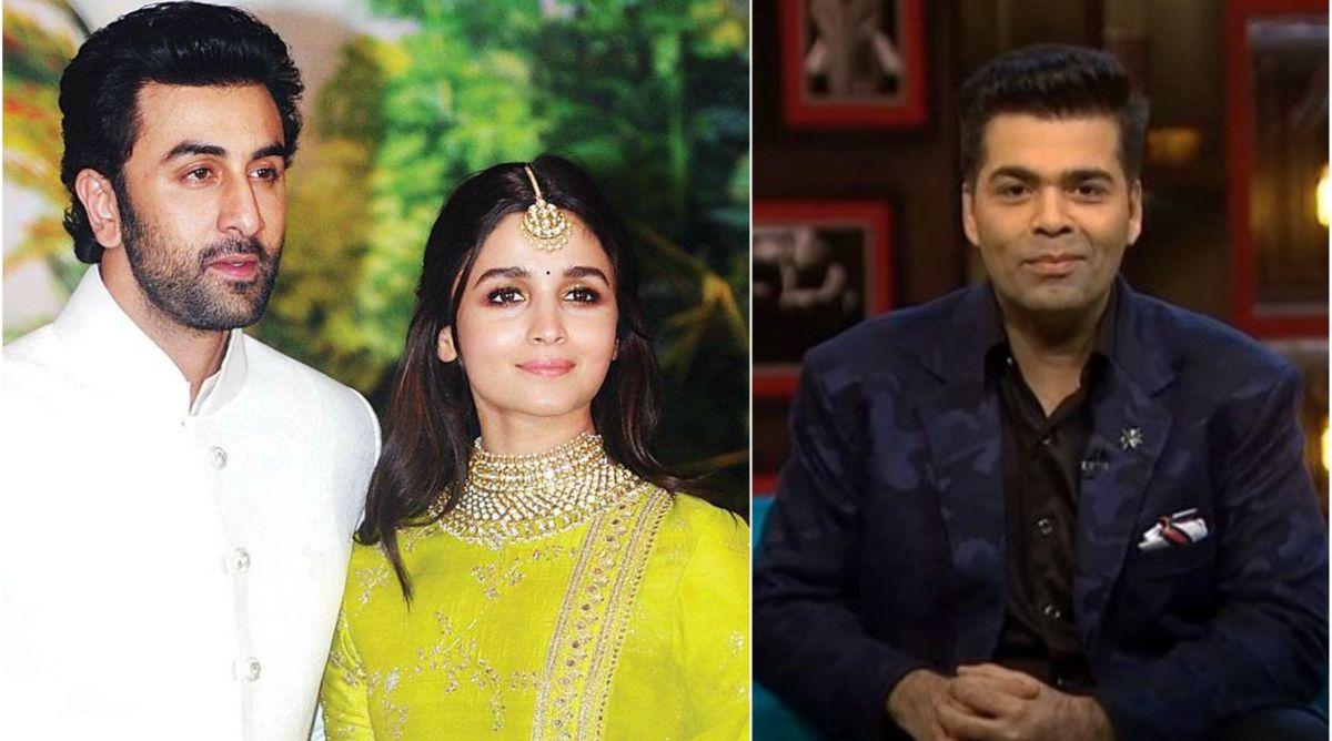 Ranbir Kapoor, Alia Bhatt, Karan Johar