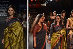 Manto actress Rasika Dugal endorses sustainable fashion at the LFW 2018