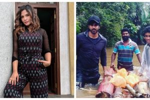Richa Chadha teams up with Shakeela co-star Rajeev Pillai to help Kerala flood victims