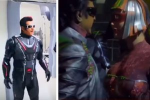 Rajnikanth, Amy Jackson's BTS dance video from 2.0  goes viral | Watch video