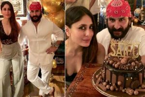 Bollywood's Nawab Saif Ali Khan rings in birthday with family