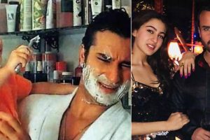 Flashback Friday | Sara Ali Khan's childhood photo with dad Saif Ali Khan is cute