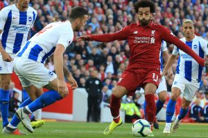 Liverpool Vs Brighton | Mo Salah strike beats Brighton to send Liverpool top