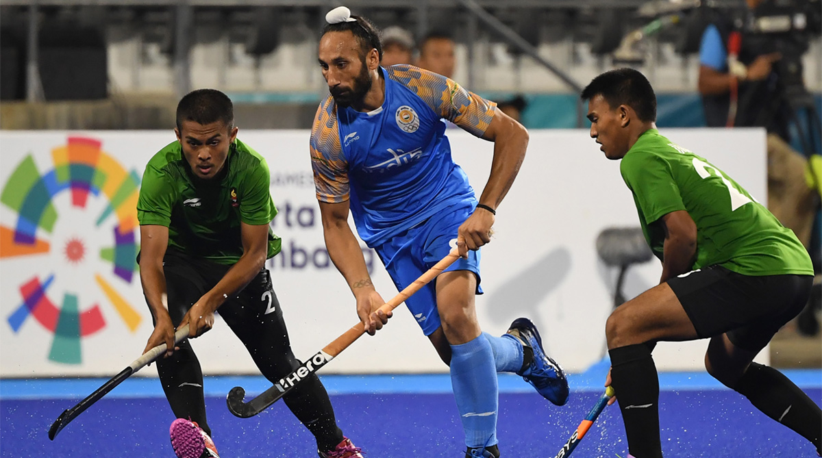 India Hockey, Asian Games, Asian Games 2018, India vs Indonesia, Sardar Singh, PR Sreejesh