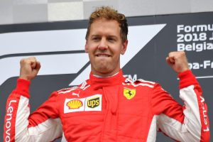 'There's something loose between my legs': Vettel in radio shock