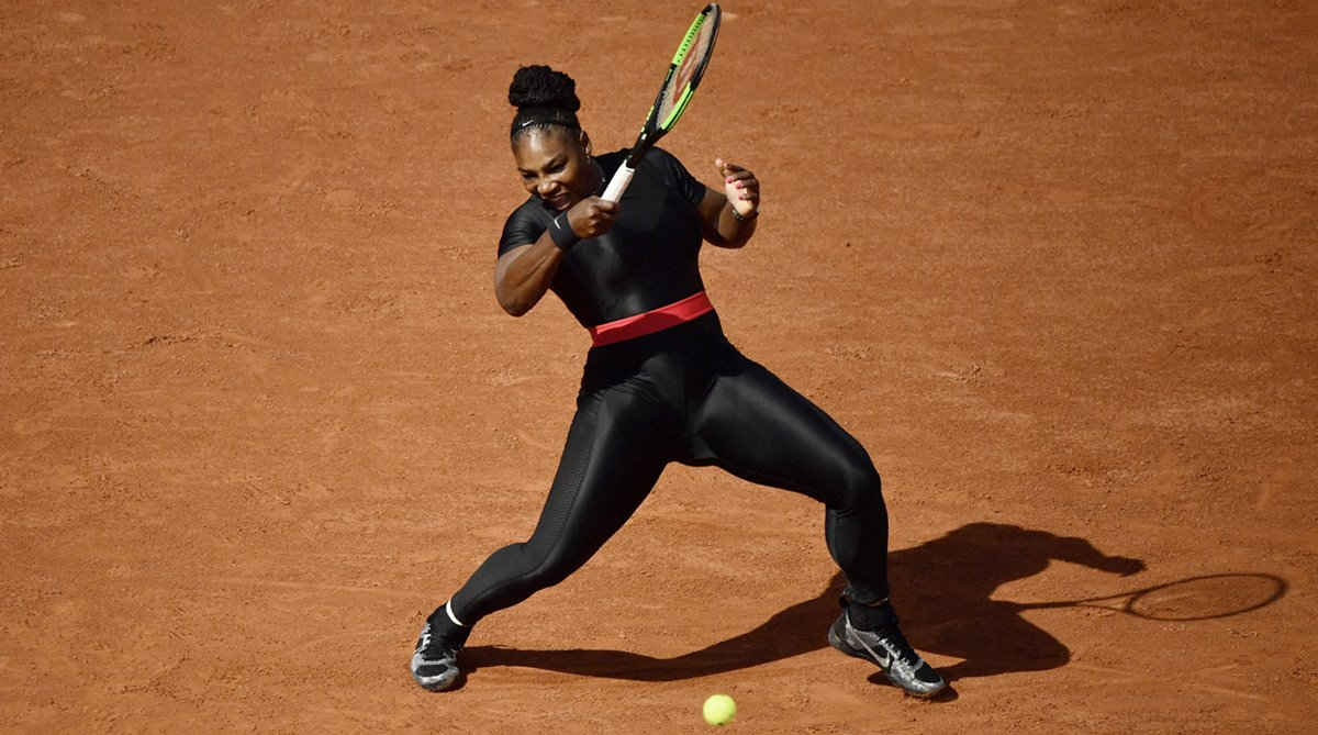 Serena Williams, catsuit row