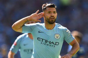 FA Community Shield: Milestone man Sergio Aguero fires Manchester City past Chelsea