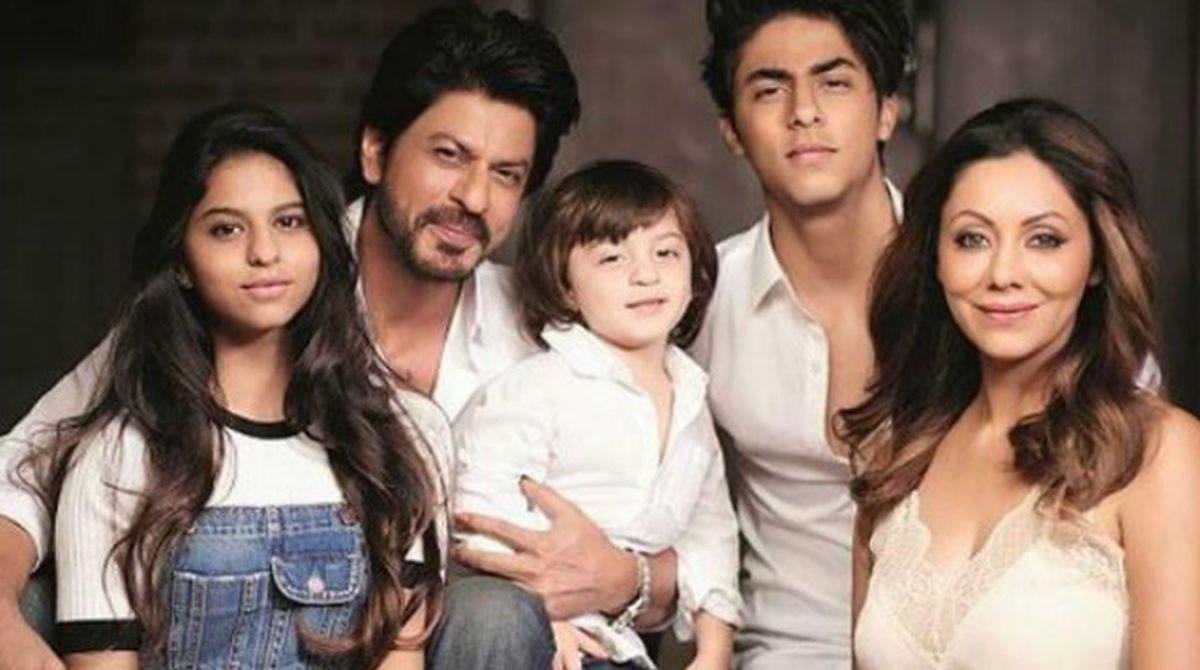 Shah Rukh Khan, Gauri Khan, Suhana Khan, AbRam Khna, Aryan Khan