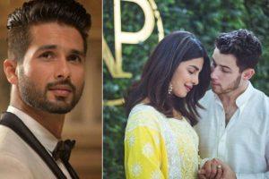 Shahid Kapoor wishes Priyanka Chopra on her engagement with Nick Jonas
