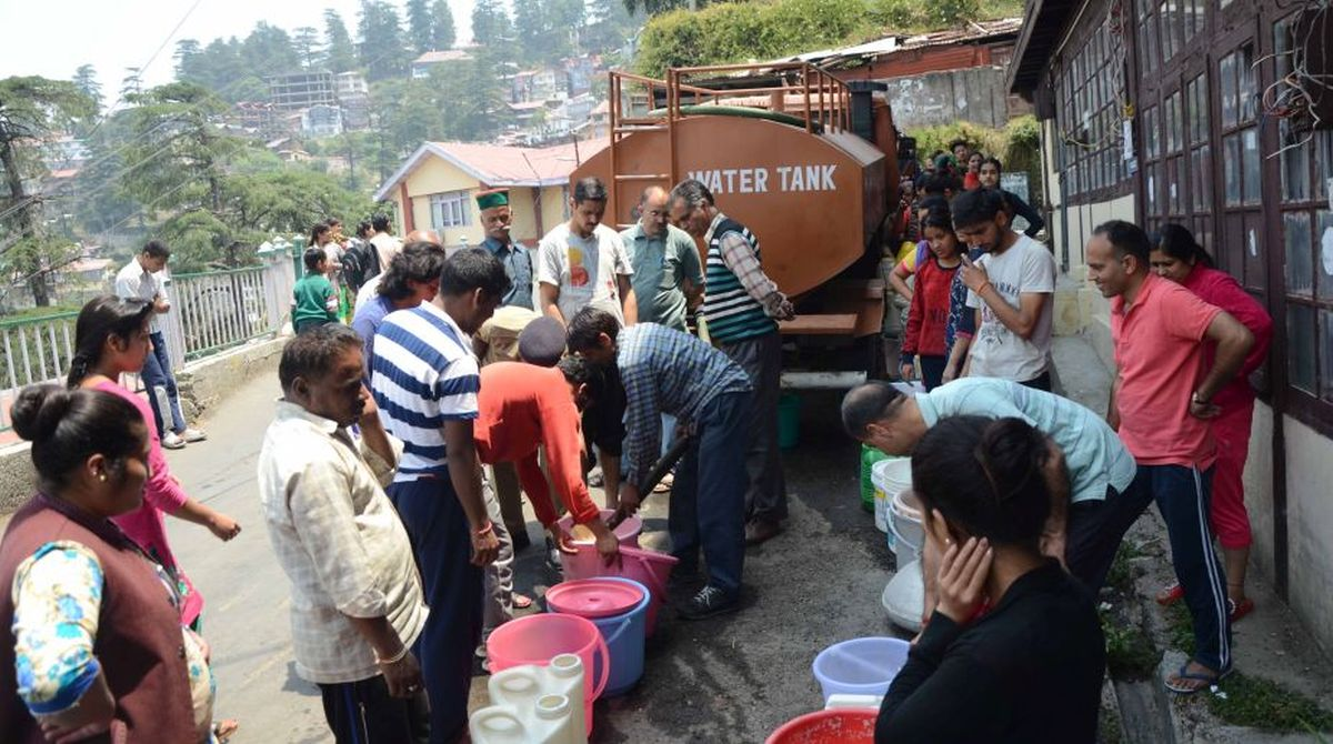 Shimla, water crisis, climatic conditions, Mahender Singh Thakur,Vidhan Sabha, Water Conservation,Himachal Pradesh