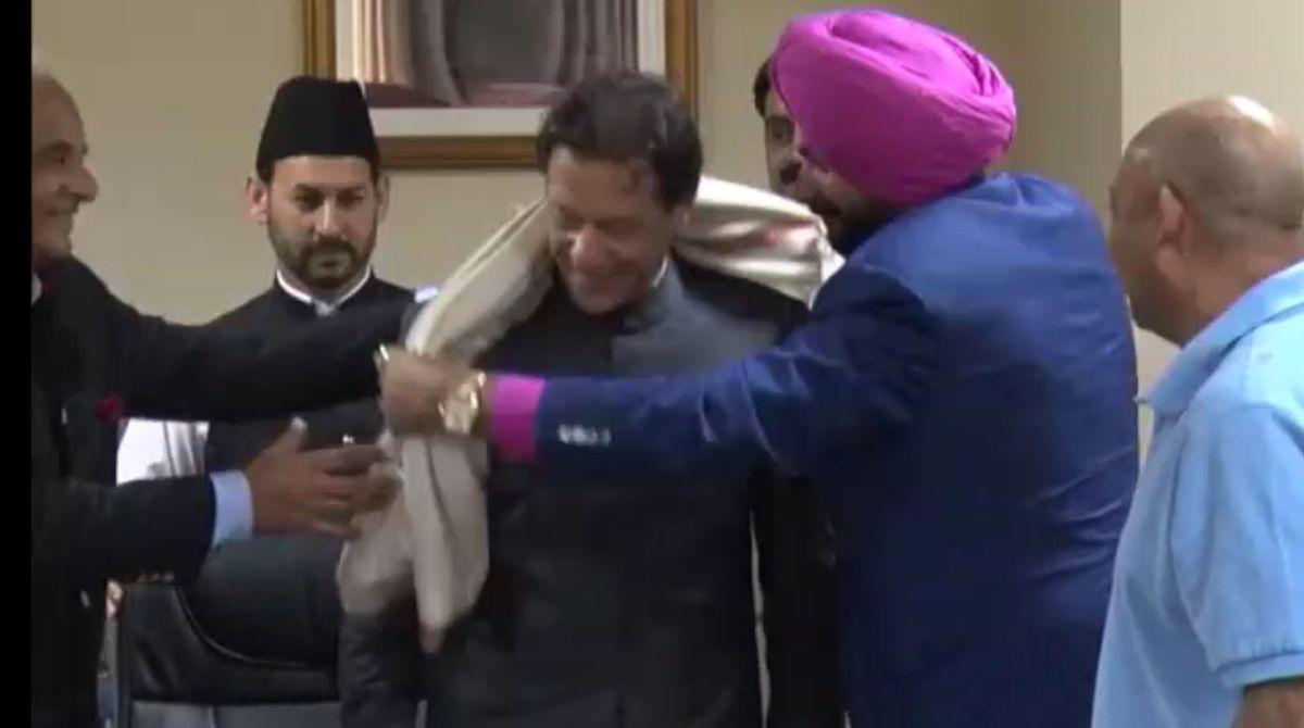 Navjot Singh Sidhu, Punjab Cabinet Minister, Imran Khan, Pakistan Army Chief, Pakistan PM