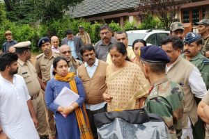 Sitharaman offers Rs 1 cr from MPLAD funds for flood-ravaged Kodagu