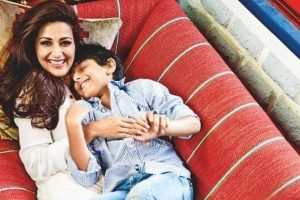 Sonali Bendre on son's 13th birthday: It's the first one that we're not together | See video