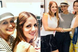As Sonali Bendre fights cancer with a smile, BFF Sussanne Khan gets emotional