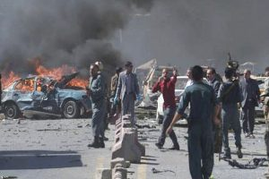 14 killed in Afghan poll rally suicide bombing
