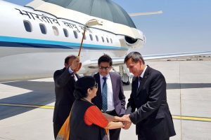 Sushma Swaraj leaves for Central Asia to boost ties
