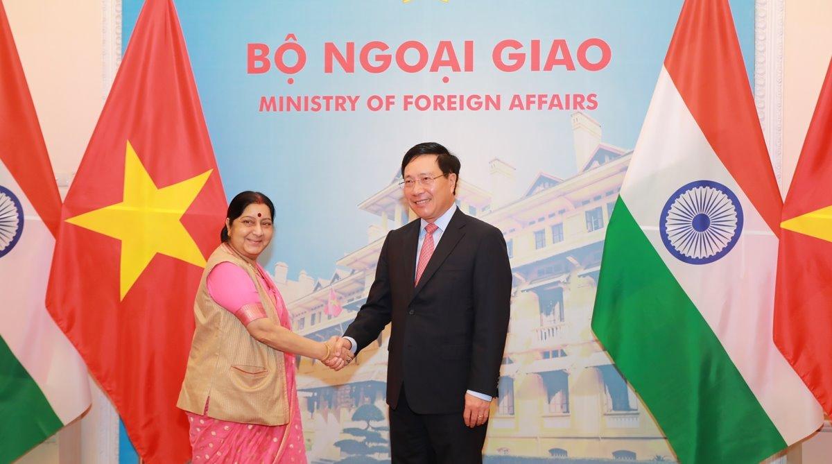 Sushma Swaraj, Hanoi